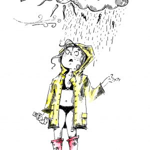 RegenSonne (Tusche; Aquarell)