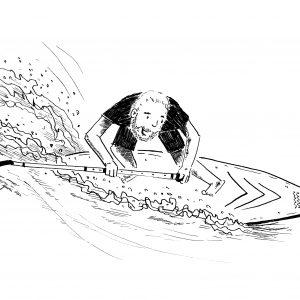 auf der Welle